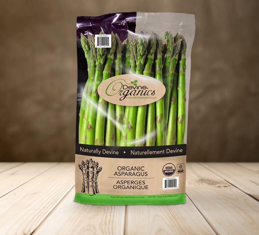 Devine Organics Packaging