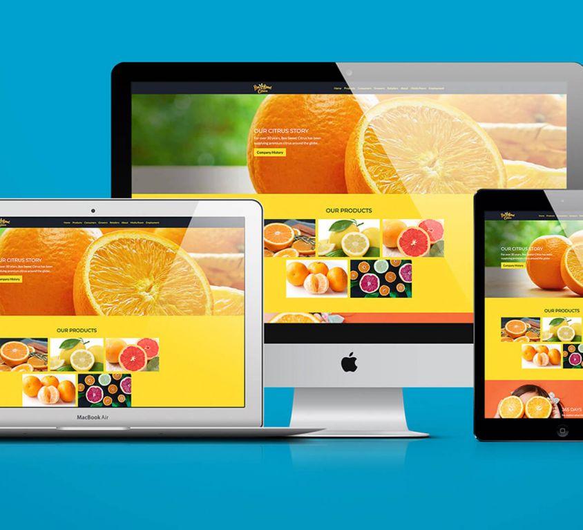 Bee Sweet Website