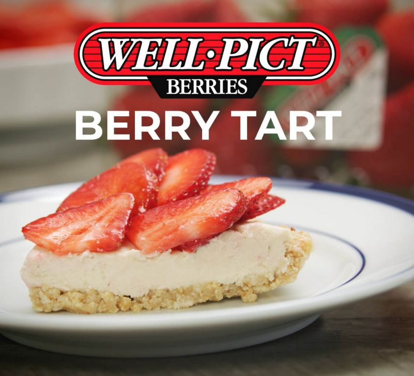Well•Pict Berry Tart Recipe Video